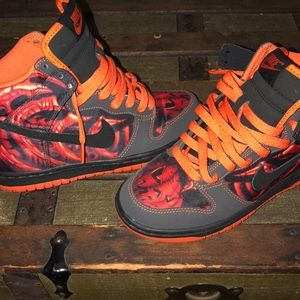Pair of Halloween Nikes, No box  never been worn